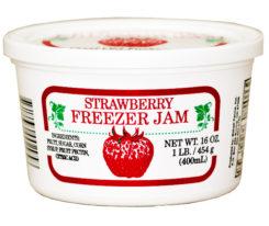 strawberry-freezer-jam
